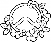 Peace Sign Printable