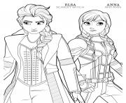 Printable ant man anna and scarlet witch elsa disney avengers coloring pages