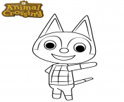 animal crossing rudy the cat