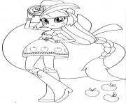 My Little Pony Equestria Girls Applejack Printables