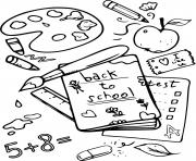 Printable math reading writing back toschool classes coloring pages