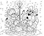 Christmas Disney Coloring Pages To Print Christmas Disney Printable