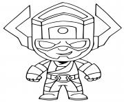 Printable Galactus Fortnite coloring pages