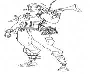 Printable Renegade Raider rarest Fortnite coloring pages