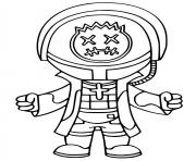 Printable Astro Jack Fortnite Icon Series coloring pages