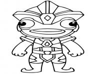 Printable Atlantean Fishstick coloring pages