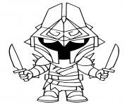 Printable Eternal Knight coloring pages