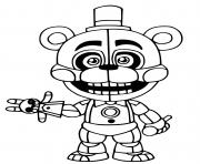 Printable Freddy 2 coloring pages