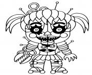 Printable Scrap Baby coloring pages