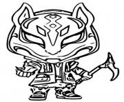 Printable funko pop fortnite drift coloring pages
