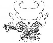 Printable funko pop fortnite ragnarok coloring pages