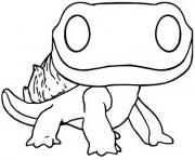 Printable funko pop frozen 2 salamandre coloring pages