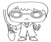 Printable Funko Pops Harry Potter coloring pages