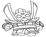 brawl stars force starr spike super vilain coloring pages