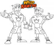 Wild Kratts brothers