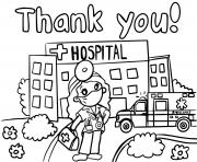 thank you hospital healthcare workers